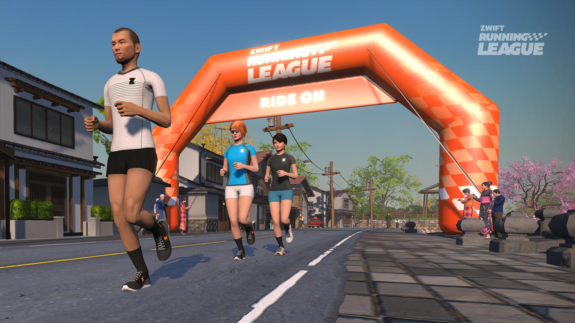 Zwift Running League